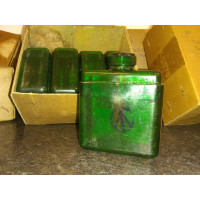 Original, Canadian Pattern, Oil Bottle, MG Mk3. Green Plastic Variant