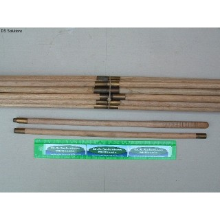 Original, British Issue 2 Piece Wooden Cleaning Rod