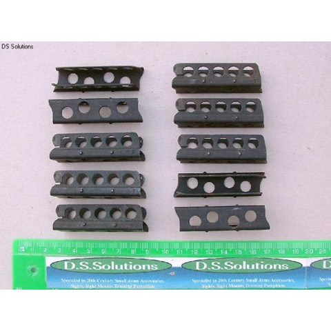 """.303"""", 5 Round, Mk4 Charger Clips, Pack of 10"""