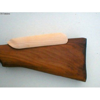 Repro, Sniper Cheek Piece (Beech) for No4(T) & L42A1 Rifle